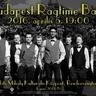 Budapest Ragtime Band koncert plakát