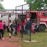 028. Az tűzoltó óvodások készülnek a maci mentésre