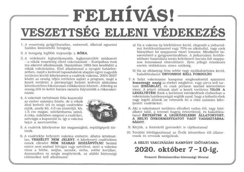 Veszettség plakát1
