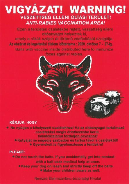 Veszettség plakát2