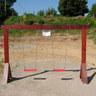 03 - Gyerekhinta, körülötte 50 cm vastagon leterített szürkehomok, ami az ütéscsillapítást szolgálja.jpg