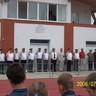 05 - Eredményhírdetésre sorakoznak a verseny szervezõi, bírái.jpg