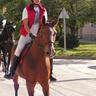 16 - Szebényi Adrienn vezette a hintók és kocsik sorát Bella nevû lovával.jpg